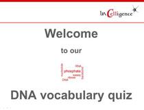 DNA vocabulary Quiz