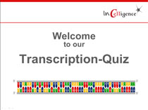Transcription Quiz